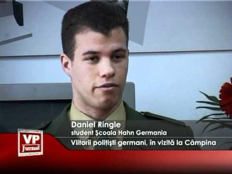 Viitorii poliţişti germani, în vizită la Câmpina