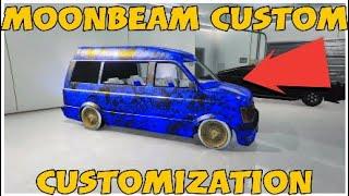 "GTA 5 Online- ""Assassin Blue"" Moonbeam Custom Modded Crew Color + Customization!"