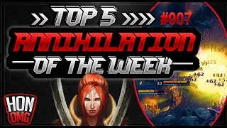 HoN | Top 5 Annihilation of the week #25/09/2018