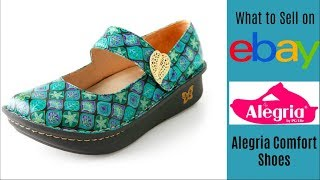 Make Money on eBay Selling Alegria Comfort Casual Shoes