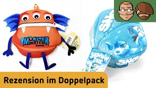 Monster Match & Snowman Dice - Review im Doppelpack