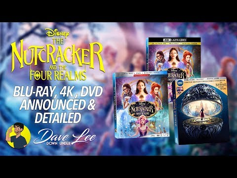 Disney  39 s the nutcracker and the four realms   blu ray  4k  dvd announced  amp  detailed