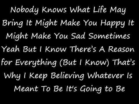 Faith Evans - Again (Lyrics on Screen)