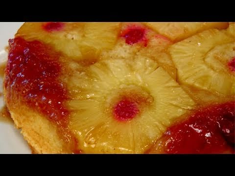 Pineapple Upside Down Cake – Recipe by Laura Vitale – Laura in the Kitchen Episode 141