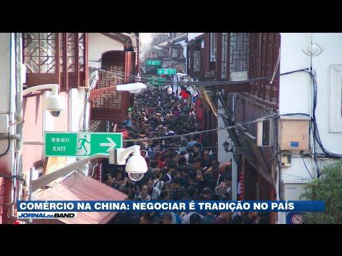Brasileiros buscam bons negócios na China