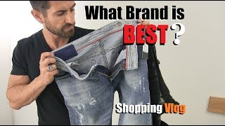 What Brand Of Jeans Is BEST? Denim VLOG (Diesel, AE,  Levis, 7s ,Gap, J Brand) Style Safari