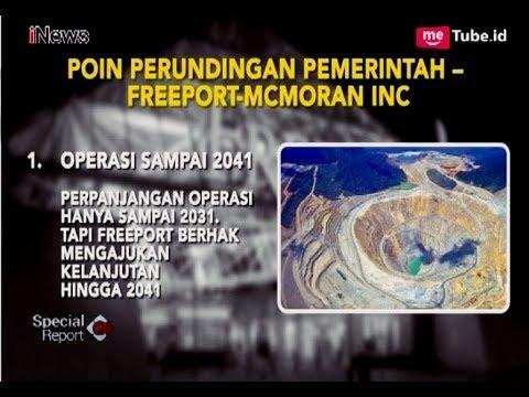 Saham Indonesia di PT Freeport Naik dari 9.36% Jadi 51% - Special Report 13/07
