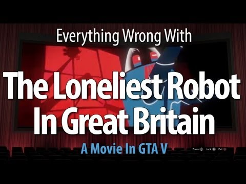 The Loneliest Robot In Great Britain