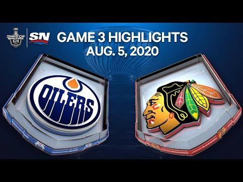 NHL Highlights | Oilers vs. Blackhawks, Game 3 – Aug. 05, 2020