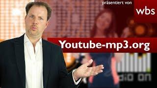 Youtubemp3.org – Beliebter Converter vor dem Aus  Rechtsanwalt Christian Solmecke