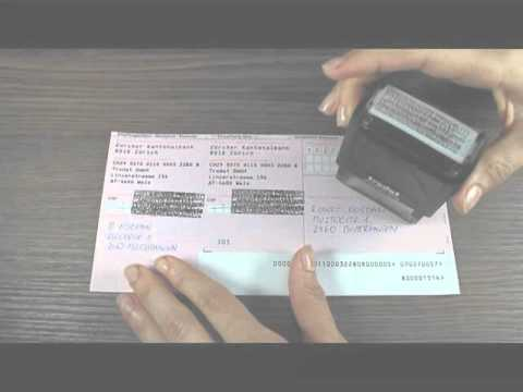 Trodat 4912 Sello para la protección de datos personales