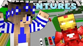Minecraft-Little Carly Adventures-LEARNING HOW TO DRIVE w/The MineVengers.