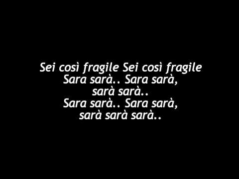 Sara-Pino Daniele (Testo)