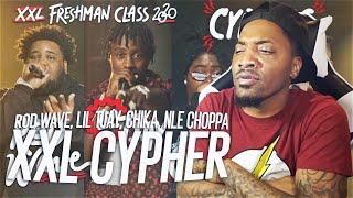 NLE Choppa, Rod Wave, Lil Tjay and Chika's 2020 XXL Freshman Cypher (REACTION!!!)