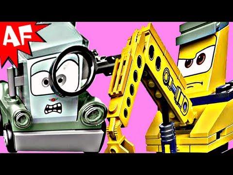 Vidéo LEGO Cars 9486 : La plate-forme pétrolière