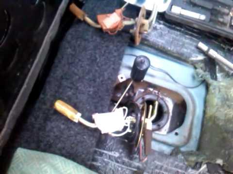 Фото №2 - замена датчика топлива ВАЗ 2110
