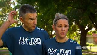 RUNNING FOR LOVE Event organisers say tomorrows HBF Run for a Reason