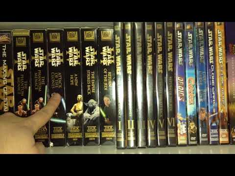 My Humble Star Wars Home Video Collection