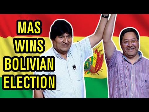MAS Wins Bolivian Election in LANDSLIDE