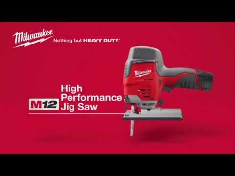 Milwaukee M12 JS-0 accu decoupeerzaag machine (body)