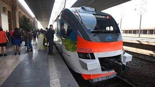 Новый поезд Ереван-Гюмри