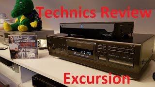 Technics CD Player SL-PS740A Review Test Excursion erweiterung meiner Musikanlage