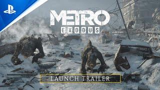 PlayStation  Metro Exodus - Launch Trailer I PS5 anuncio