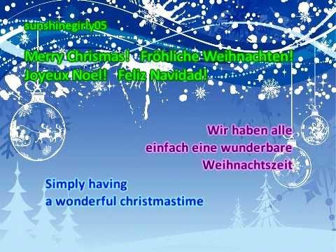 demi lovato wonderful christmas time lyrics german translation - Simply Having A Wonderful Christmas Time Lyrics