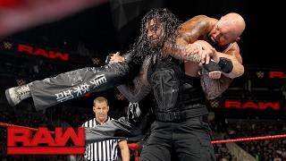 Roman Reigns vs. Luke Gallows & Karl Anderson - 2-on-1 Handicap Match: Raw, Feb. 13, 2017