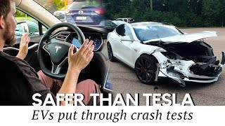 Top 10 Electric Car Crash Tests: Can These EVs Be Safer than Tesla?