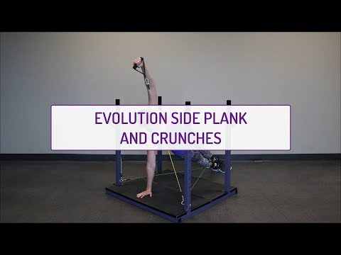 Evolution Side Plank and Crunches