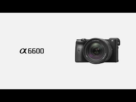Sony Alpha A6600 systeemcamera Zwart + 18 135mm (ILCE6600MB.CEC)