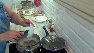 """Обзор Кухонного гарнитура """"НЕНСИ"""" Леруа Мерлен ! Мой рецепт Рассольника без перловки !"""