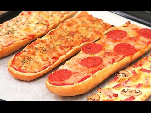 4 Tipos de Pizza Fáciles y Rápidas de hacer con Pan