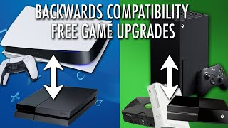 PS5 vs. Xbox Series X: Backwards Compatibility and Free Game Upgrades (FULL EXPLANATION)