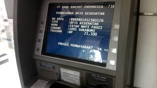 Byr BPJS Via ATM BRI