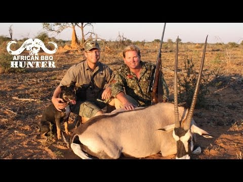 African BBQ Hunter – oryx hunting in Namibia