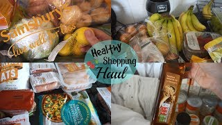 HEALTHY SAINSBURYS FOOD SHOPPING HAUL FOR A FAMILY OF 6