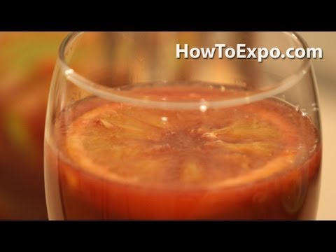 Συνταγή για σανγκρία με φρούτα