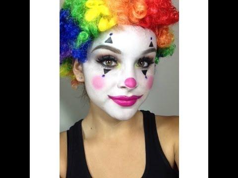 Clown Makeup Tutorial (Halloween)