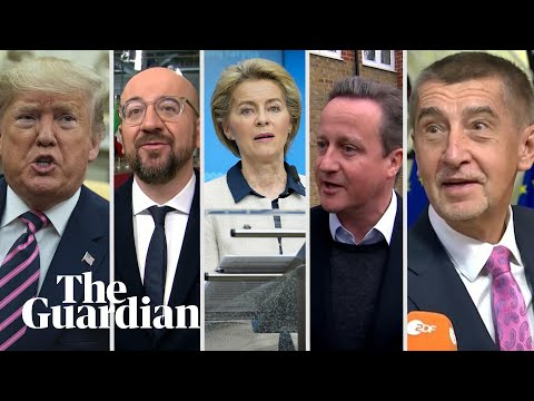 'Bad news for Europe': World leaders react to the UK election result