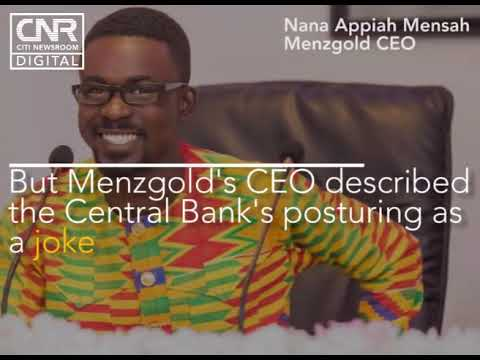 Menzgold shuts down operations after SEC directive