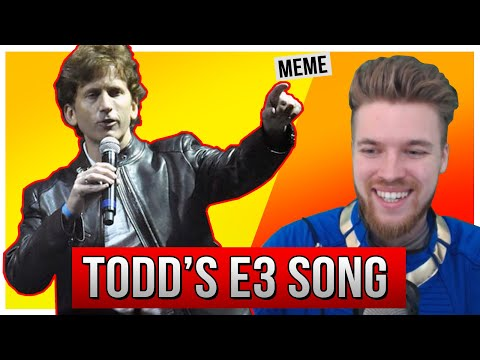 Todd Howard E3 2019 Song - (ESO REACTS To Bethesda's New Music Video)