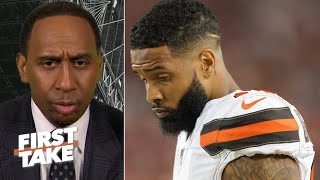 Odell Beckham needs the ball before things 'snowball out of control' – Stephen A. | First Take