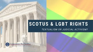 Event Video: The Supreme Court's Title VII Decision: Textualism or Judicial Activism?
