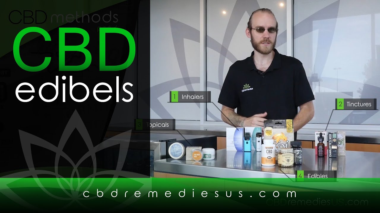 CBD Remedies edibles