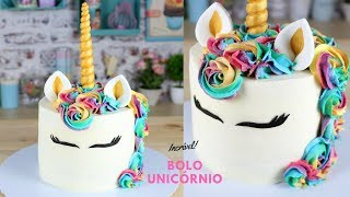 Bolo Unicórnio   Como Fazer Bolo Unicórnio   Cakepedia
