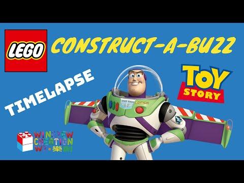 Vidéo LEGO Toy Story 7592 : Figurine Buzz l'Éclair à construire