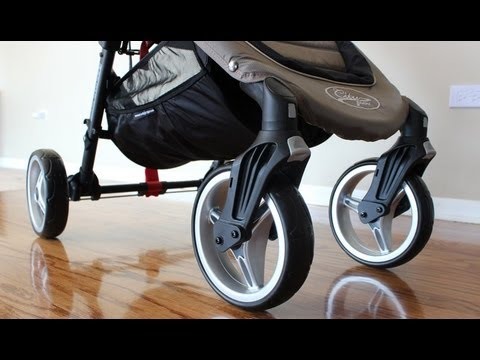Baby Jogger City Mini 4-Wheel Stroller Review