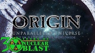 ORIGIN - New Album: Unparalleled Universe (OUT WORLDWIDE)